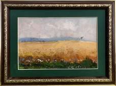 NO RESERVED Oil painting Before the rain Tsyupka Ivan