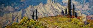 BAKAEV SERGEY IVANOVICH Oil painting Ai-petri