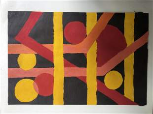 A SINGH ABSTRACT ON PAPER