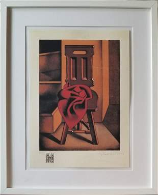 HENRYK BERLEWI 1894-1967 LITHOGRAPH ON PAPER