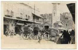 6 Photographs - Otto Koenig - Palestine - 1914