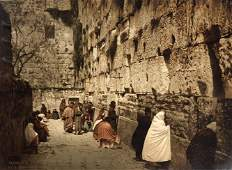 Photo - Western Wall in Jerusalem - Photochrom Zurich