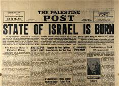 The Palestine Post Issue - Establishment of Israel