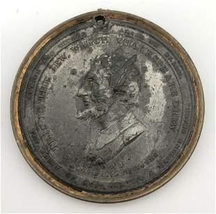 Antisemitic Medal - Shakespeare's Jew - London, 1809