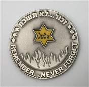 Never Forget - Holocaust Silver Medal & Other Items