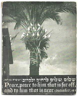 Postcard Binder with Eretz Israel Views