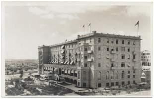 King David Hotel Photo Postcard - Chalil Raad
