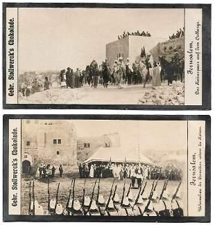 Photo Cards of Kaiser Wilhelm Journey to Palestine 1898