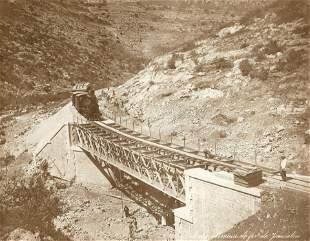 Building the Jaffa Jerusalem Line Bridge - Palestine