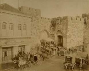 Jaffa Gate Photo - Jerusalem, Palestine - 19th Century