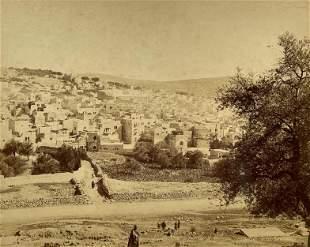 3 Photos of Hebron, Palestine - Bonfils, 19th Century