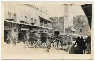 6 Photos - Jerusalem & Palestine - 1914
