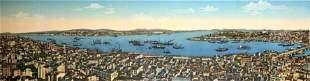 Panorama of Constantinople - Jsraelowitz, 19th Century
