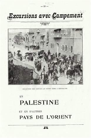 Excursions to Palestine - Thomas Cook - 19th Century