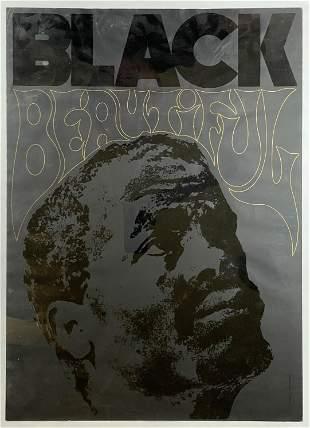 Black is Beautiful - Israeli Art Poster