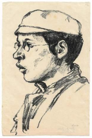 Jewish Boy - Hermann Struck