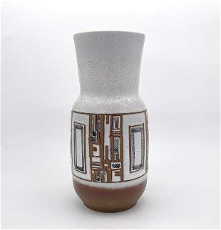 Ceramic Vase - Abstract Design - Lapid, Israel