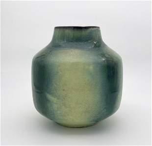 Green Ceramic Vase - Keramon Negev, Israel