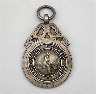 Palestine Hockey Cup - Silver Medal - 1930