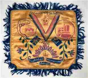 Silk Cover - Souvenir from Palestine - WW2