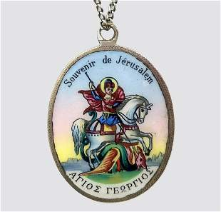 Souvenir of Jerusalem – Saint George - 19th Century