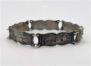 Silver Bracelet - Views of Israel