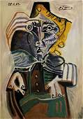 Pablo Picasso signed