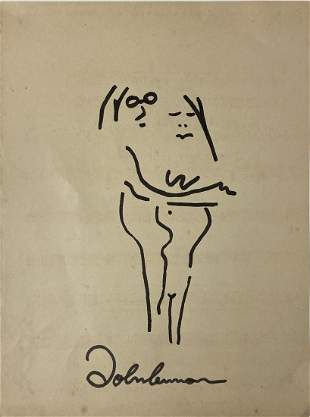 John Lennon signed