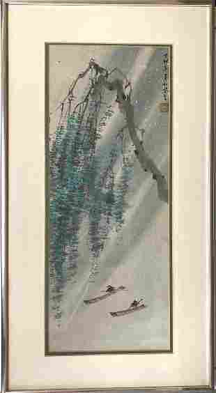 Chinese Painting on Rice Paper