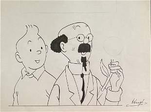 Hergé (manner of)