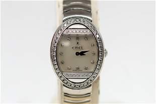 Vintage Ladies 18k White Gold Ebel Satya Wristwatch