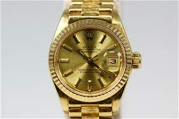 Vintage Ladies Rolex Oyster Perpetual Datejust with