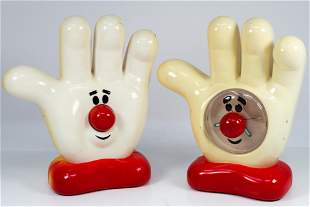"""HELPING HAND"" ALARM CLOCK & ""HELPING HAND"" AM"
