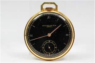 Vintage Patek Philippe Geneve Pocket Watch in 18k