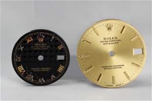 Loose Vintage Rolex Watch Dials