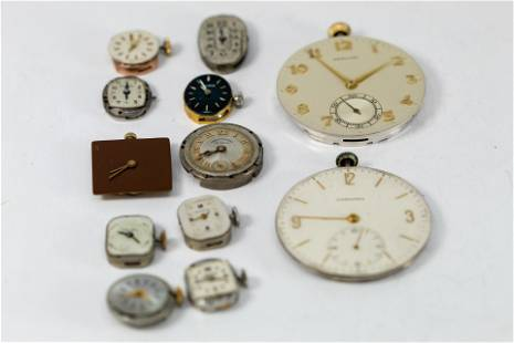 Assorted Watches & Watch Parts