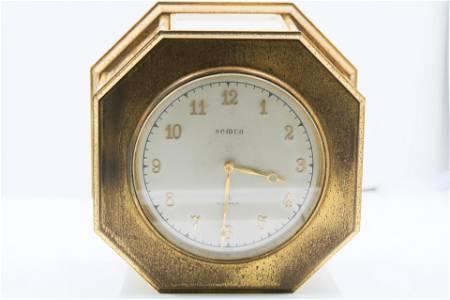 Antique Semca Weather Clock Station