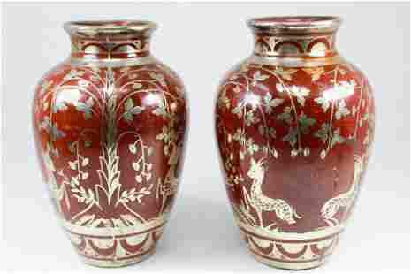 Antique Italian Ceramic Vases