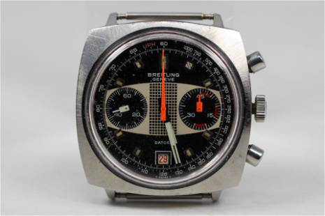 Vintage Breitling Geneve Datora Chronograph with Date
