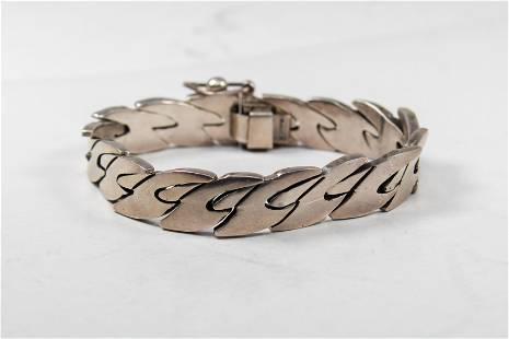 Vintage Taxco Bracelet in Sterling Silver