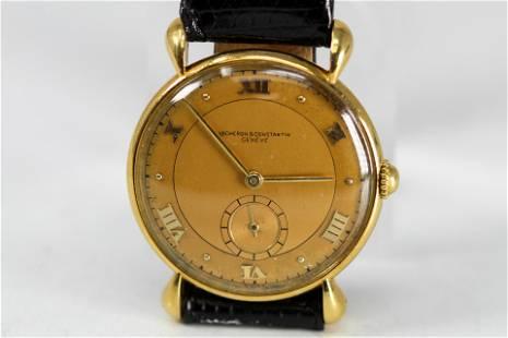 Vintage Vacheron & Constantin Geneve Wristwatch in 18k