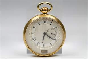 Vintage Breguet Pocket Watch in 18k Yellow Gold