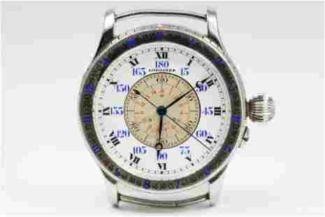 Antique Longines Charles Lindbergh Pilot's Watch