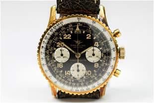 Vintage Breitling Geneve Cosmonaute Chronograph