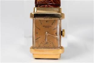 Vintage Patek Philippe Geneve Rectangular Wristwatch in