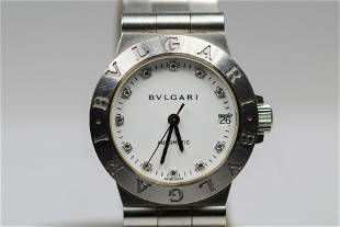 Bulgari Ladies Automatic with Date Wristwatch with