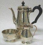 TIFFANY & CO STERLING SILVER COFFEE SET 979 GRAMS!
