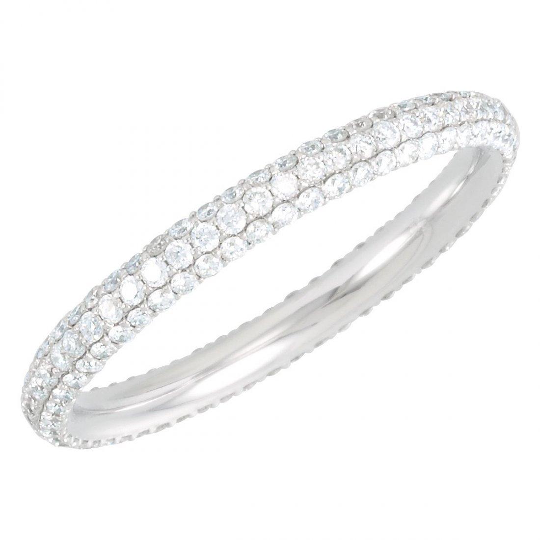Ring - 7/8 CTW Diamond Eternity Band Size 6.5
