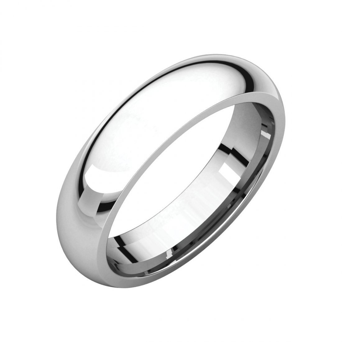 Ring - Platinum 5mm Comfort Fit Band