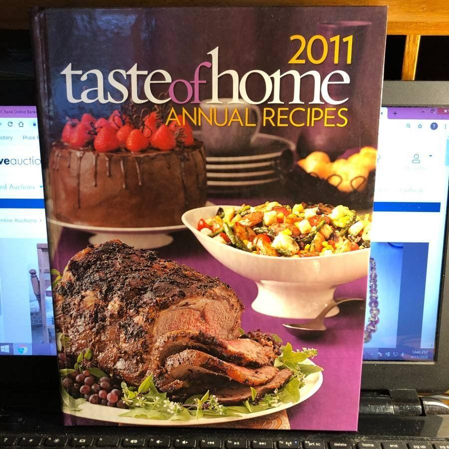 Taste of Home's 2011 Annual Recipes Hardcover Cookbook